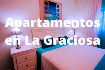 Alojamiento en La Graciosa, los mejores apartamentos