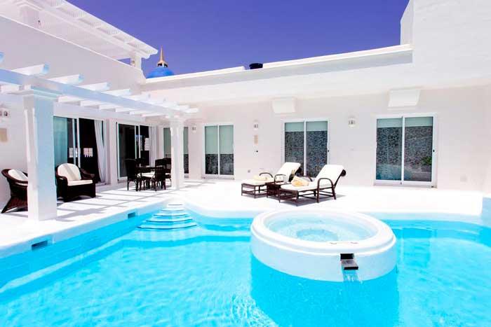 Villa con piscina privada en Fuerteventura para alquilar