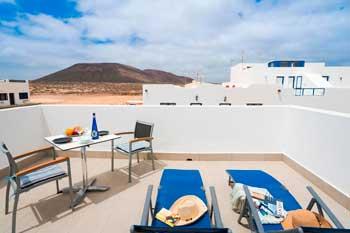 Apartamento en La Graciosa con terraza, Los Remos