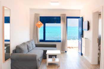 Apartamentos El Marinero Caletilla en Caleta de Sebo para grupo de 6 personas