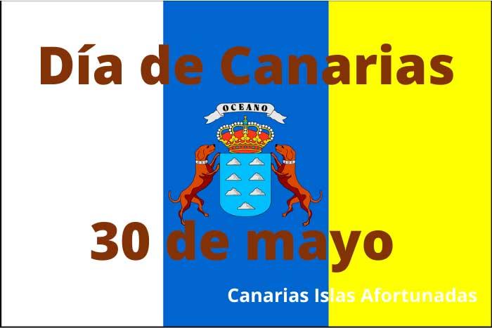 Bandera de las Islas Canarias del Día 30 de Mayo
