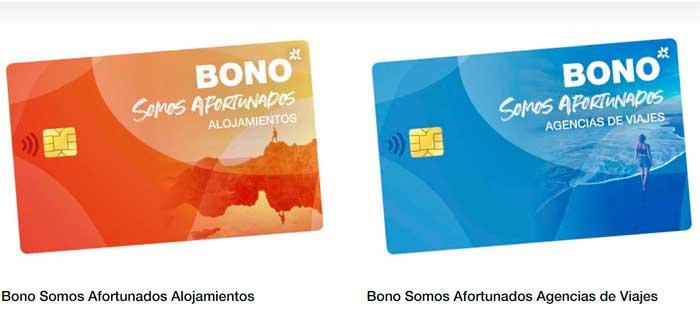Bono Turístico Canarias Somos Afortunados sorteo año 2021