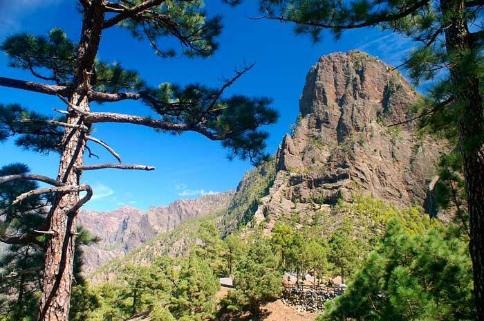 Caldera de Taburiente, Parque Nacional de La Palma