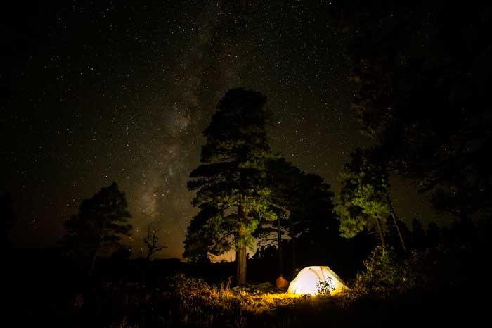 Camping con caseta en Tenerife