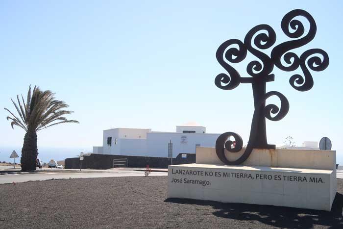 A Casa Jose Saramago en Tías, uno de los museos imprescindibles que visitar en Lanzarote