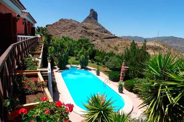 Casa Rural con piscina en Tejeda, Chalet Bentayga