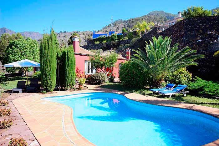 Casa Rural con piscina privada en La Palma