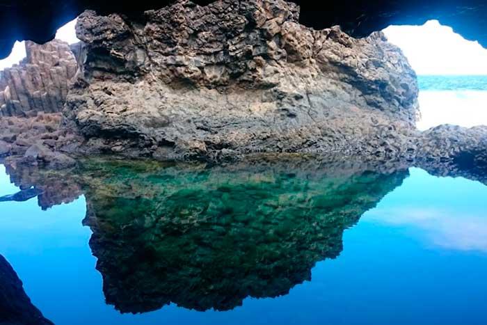 Charco Azul en la Isla de El Hierro