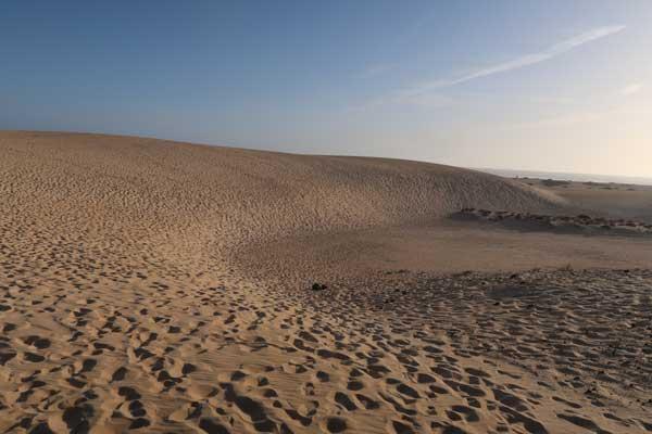 Corralejo dunas de Fuerteventura, una de las islas orientales