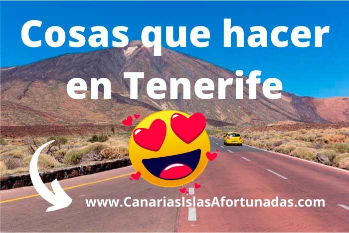 Cosas que hacer en la Isla de Tenerife