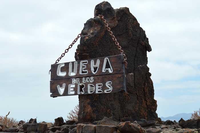Cueva de Los Verdes en el Norte de Lanzarote