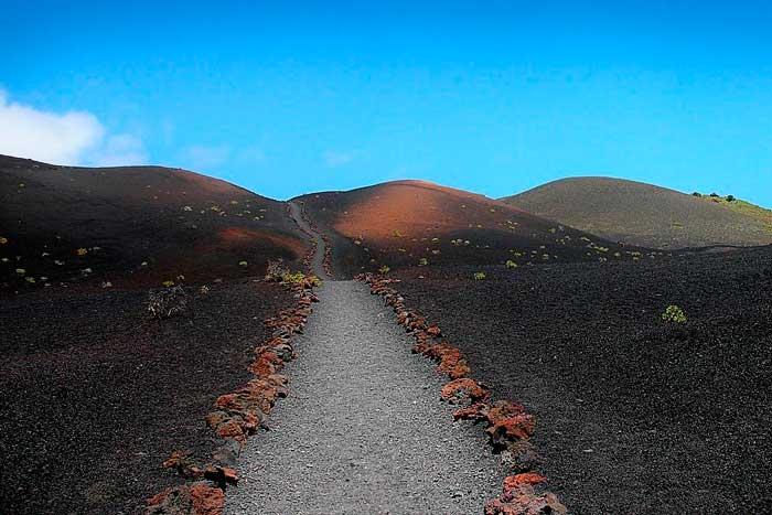 Parque Natural de los Volcanes de Cumbre Vieja en La Palma