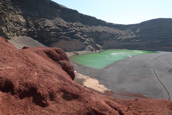 El Golfo Lanzarote, Charco Verde