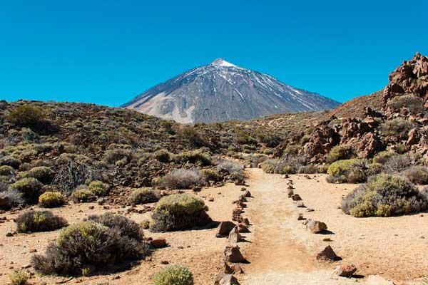 Volcán El Teide en el Parque Nacional de Tenerife