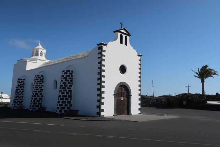 Ermita de Los Dolores en Tinajo, Lanzarote
