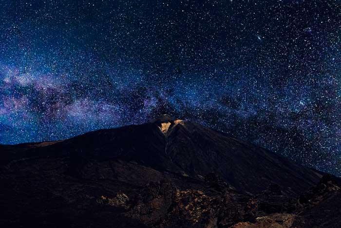 Excursión de noche al Teide en Tenerife para ver las estrellas con telescopio