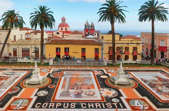 Fiestas del Corpus Christi en La Orotava