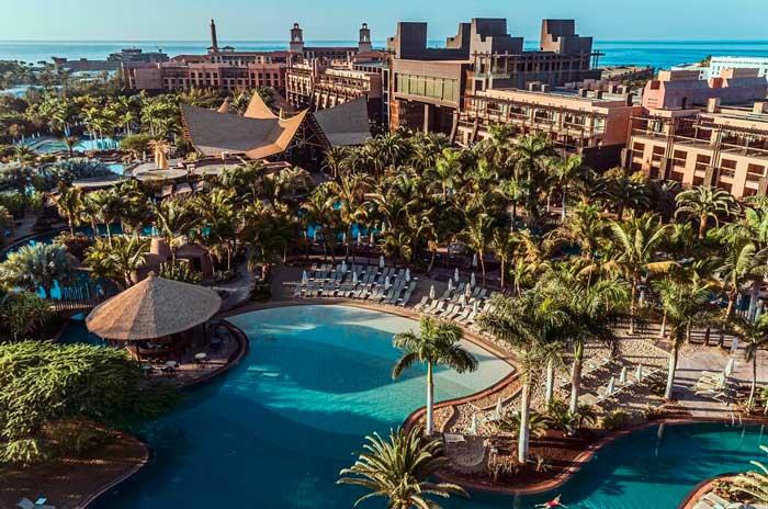 Hotel de lujo de Meloneras en el sur de Gran Canaria Baobab Resort