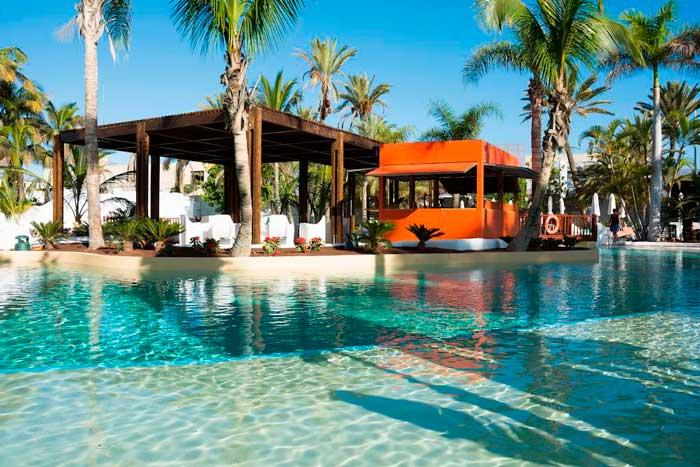 Hotel todo incluido con piscina en el sur de Gran Canaria
