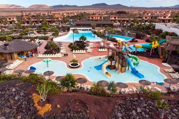 Uno de los mejores hoteles con toboganes para ir con niños en Fuerteventura, OrigoMare
