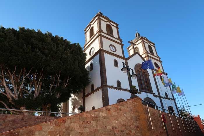 Iglesia de La Candelaria en Ingenio en Gran Canaria