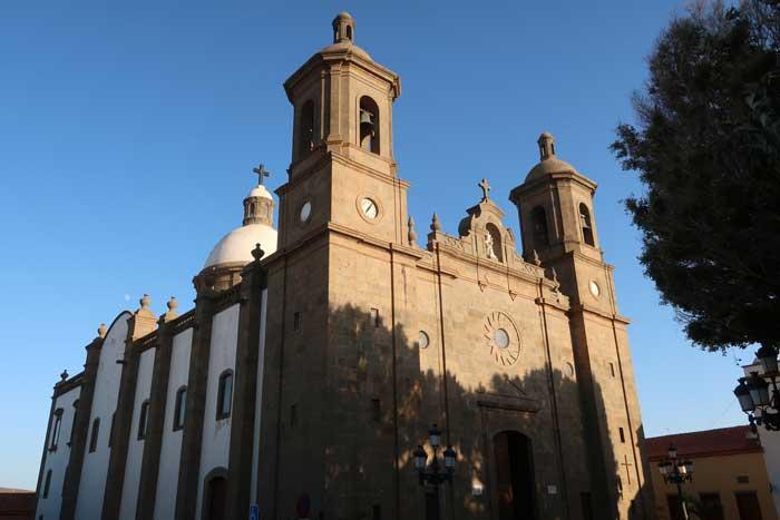 Iglesia de San Sebastian de Aguimes, parroquia del pueblo