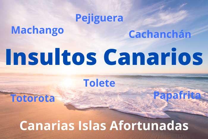 Insultos Canarios Típicos del Diccionario Canario de Canarias Islas Afortunadas