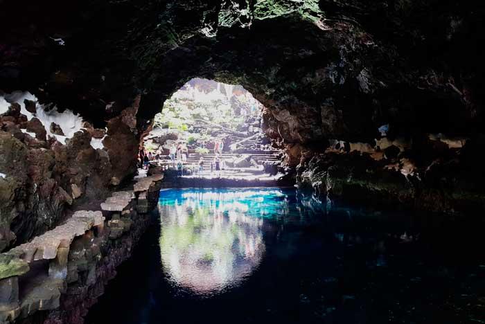 Jameo Chico de los Jameos del Agua en Lanzarote