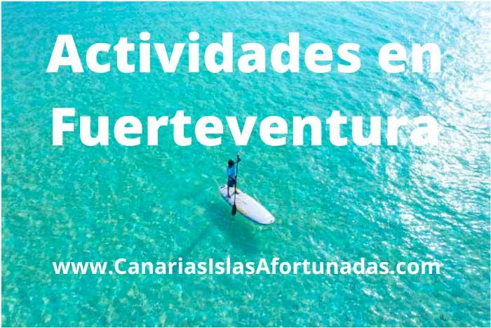 Mejores Actividades que hacer en Fuerteventura