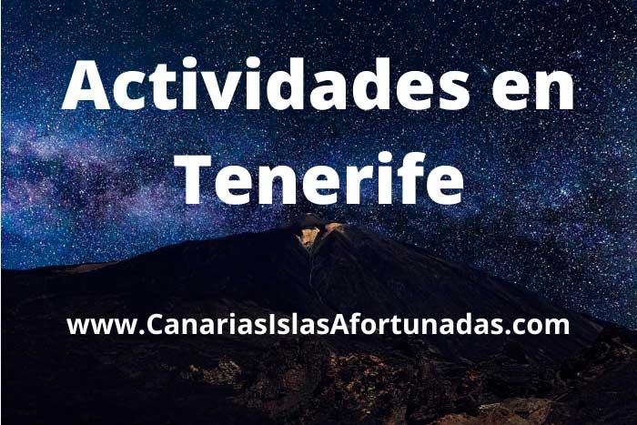 Mejores Actividades que hacer en Tenerife