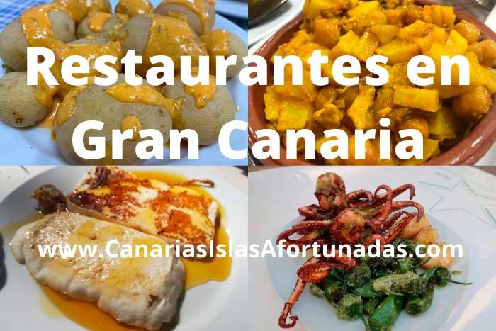 Mejores Restaurantes donde comer en Gran Canaria en Canarias