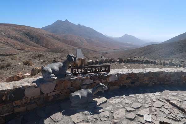 Fotos de paisajes de Fuerteventura, Sicasumbre mirador