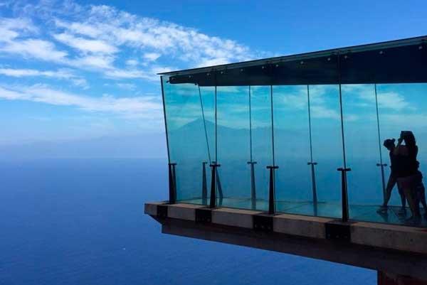 Mirador de Abrante en Agulo, Isla de La Gomera