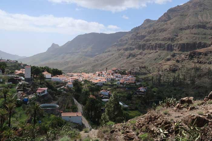 Mirador de Fataga en Artenara