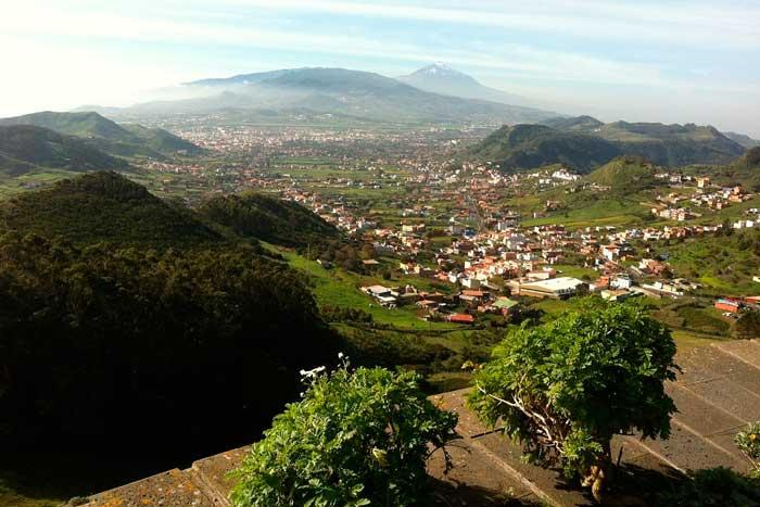 Mirador de Jardina en La Laguna, imprescindibles que ver en Tenerife