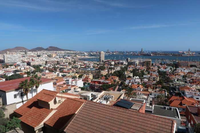 Mirador de Las Cornisa en Las Palmas de Gran Canaria