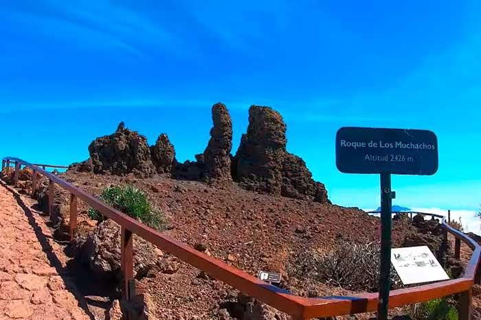 Mirador del Roque de los Muchachos en La Palma