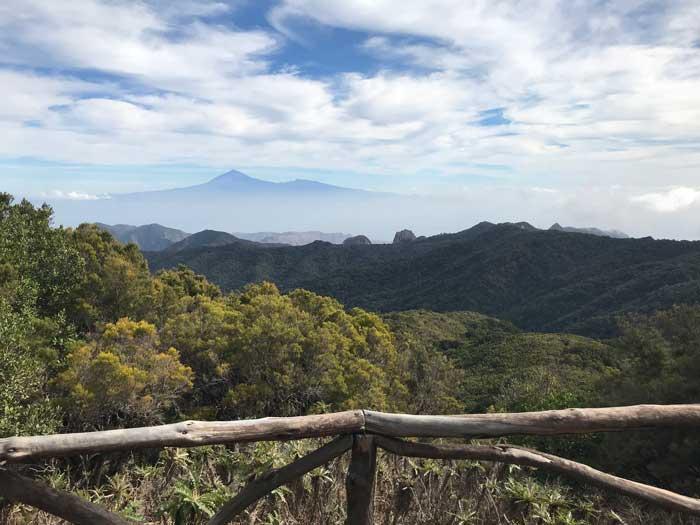 Mejores miradores de La Gomera, Garajonay
