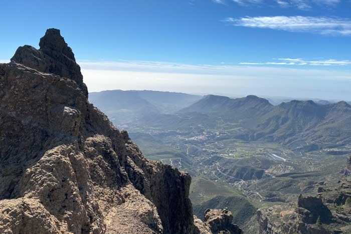 Mirador del Morro de la Agujereada en Gran Canaria