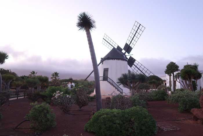 Molino del Museo del Queso Majorero en el municipio de Antigua