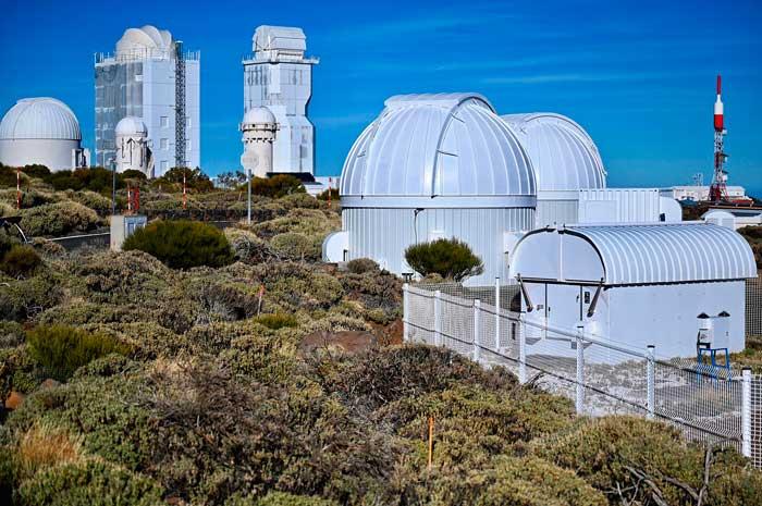 Observatorio Astronómico de El Teide en Tenerife