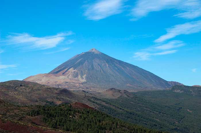 Sendero Alto de Guamaso en el Parque Nacional de El Teide