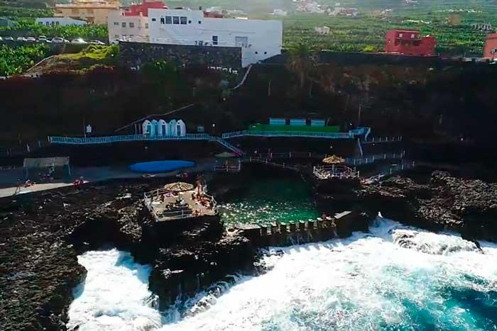 Piscina Natural de El Charco Azul en La Palma