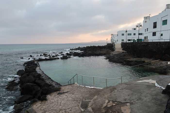 Piscinas Naturales de Punta Mujeres en Lanzarote