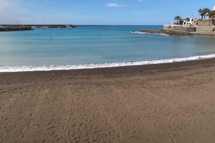 Playa de Arguineguín Las Marañuelas en el sur de Gran Canaria