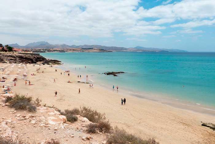 Una de las playas de Costa Calma en Fuerteventura