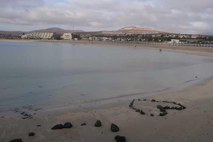Playa El Castillo, principal atractivo del turismo en Caleta de Fuste
