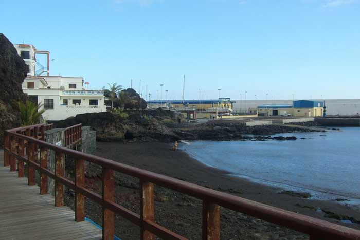 Playa de La Restinga en el sur de la Isla de El Hierro