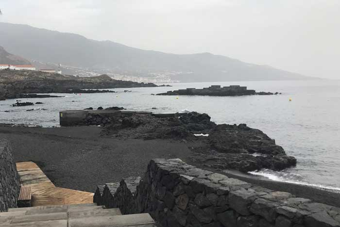 Playa de Los Cancajos en La Palma