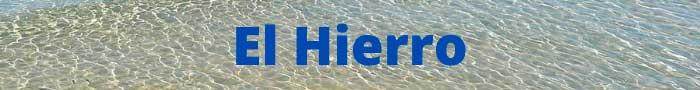 Playas vírgenes de Canarias en El Hierro